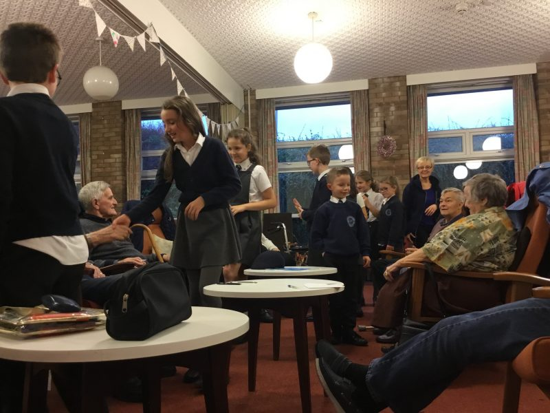 Some of us enjoyed a lovely afternoon with the butterfly group…