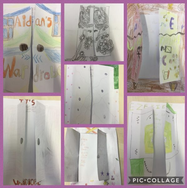 World book day in year 4 and vocabulary wardrobes