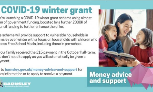 Barnsley Council launches COVID-19 winter grant scheme