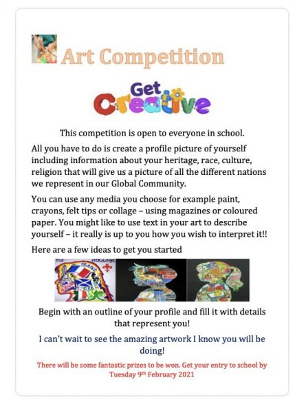 Get Creative- Art Competition